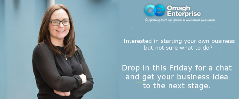 Event Start a Business Drop-In Day Date at Omagh Enterprise