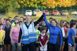A Big Thank You To Omagh Parkrun Volunteers
