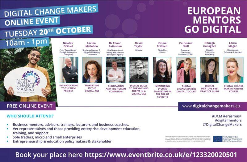 Digital Change Makers – Making European Mentors Digital